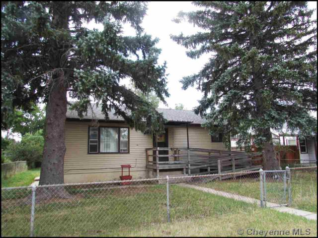 2505 E 13TH ST, Cheyenne, WY 82001 (MLS #72166) :: RE/MAX Capitol Properties
