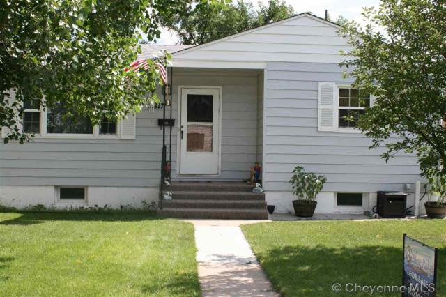 2817 E 11TH ST, Cheyenne, WY 82001 (MLS #72359) :: RE/MAX Capitol Properties