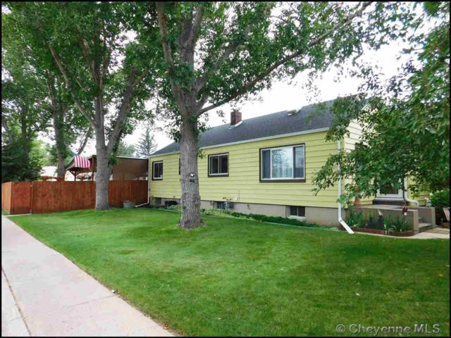 1521 E 18TH ST, Cheyenne, WY 82001 (MLS #72411) :: RE/MAX Capitol Properties