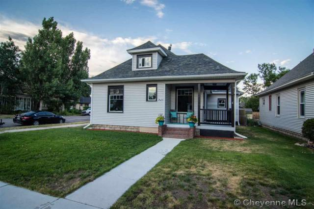 2623 Central Ave, Cheyenne, WY 82001 (MLS #72455) :: RE/MAX Capitol Properties