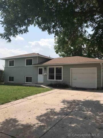 606 Cleveland Ave, Cheyenne, WY 82001 (MLS #72492) :: RE/MAX Capitol Properties