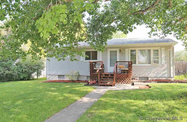 708 Apache St, Cheyenne, WY 82009 (MLS #72612) :: RE/MAX Capitol Properties