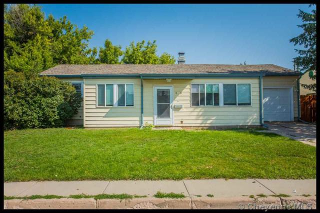 4120 E 6TH ST, Cheyenne, WY 82001 (MLS #72649) :: RE/MAX Capitol Properties