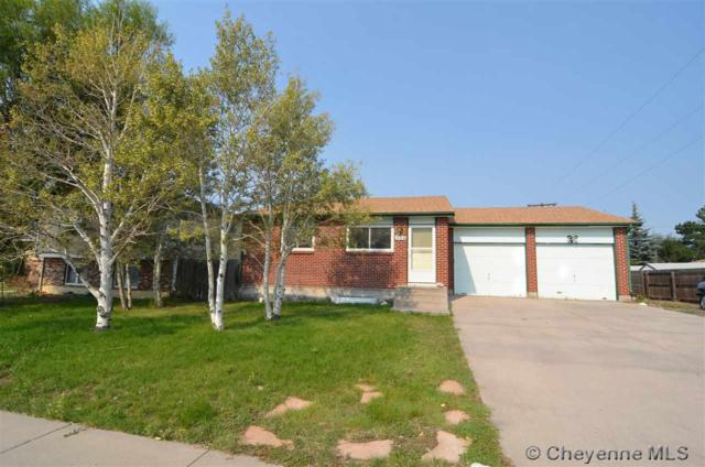 504 Taft Ave, Cheyenne, WY 82001 (MLS #72664) :: RE/MAX Capitol Properties