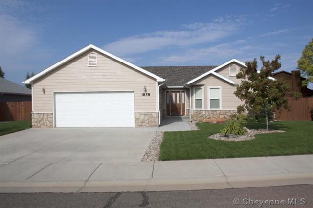 1858 Dillon St, Laramie, WY 82072 (MLS #72731) :: RE/MAX Capitol Properties