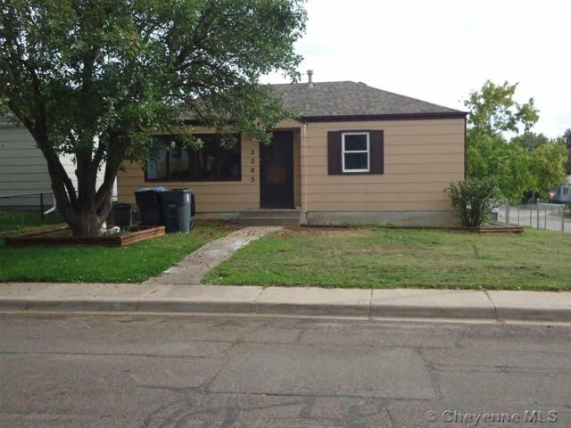 2203 E 18TH ST, Cheyenne, WY 82001 (MLS #72815) :: RE/MAX Capitol Properties