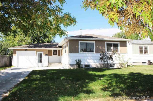 1610 Crook Ave, Cheyenne, WY 82001 (MLS #72942) :: RE/MAX Capitol Properties
