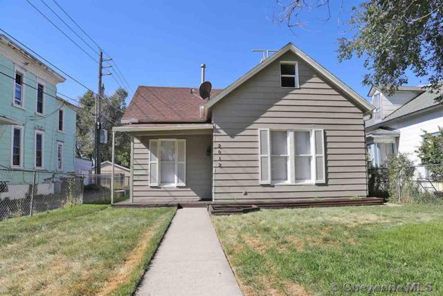 2012 Van Lennen Ave, Cheyenne, WY 82001 (MLS #72943) :: RE/MAX Capitol Properties