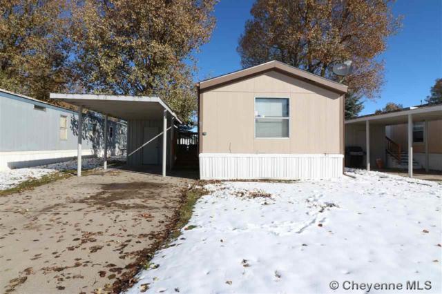 1314 W 18TH ST #11, Cheyenne, WY 82001 (MLS #73202) :: RE/MAX Capitol Properties