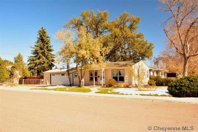 1103 Platte Ave, Cheyenne, WY 82001 (MLS #73230) :: RE/MAX Capitol Properties