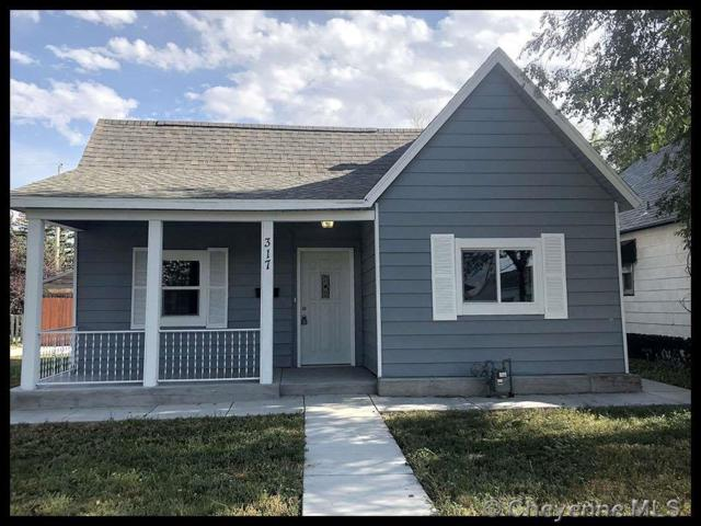 317 E 10TH ST, Cheyenne, WY 82001 (MLS #73236) :: RE/MAX Capitol Properties