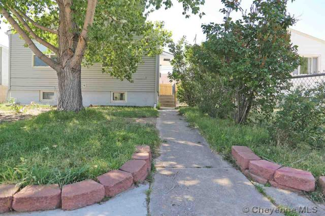 2203 E 16TH ST, Cheyenne, WY 82001 (MLS #73243) :: RE/MAX Capitol Properties