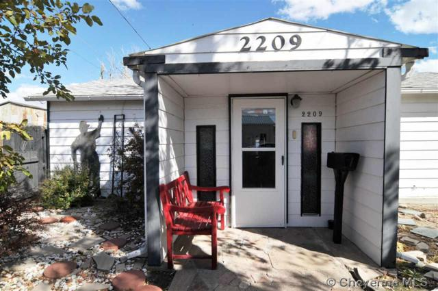 2209 Dillon Ave, Cheyenne, WY 82001 (MLS #73244) :: RE/MAX Capitol Properties