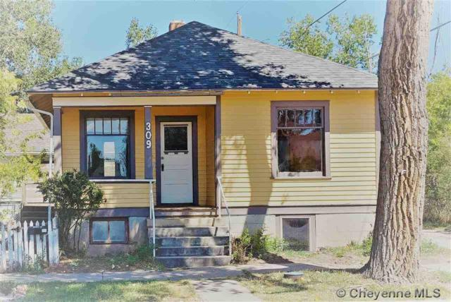 309 Ord St, Laramie, WY 82070 (MLS #73247) :: RE/MAX Capitol Properties