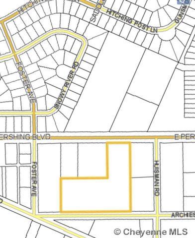 TBD E Pershing Blvd, Cheyenne, WY 82001 (MLS #73299) :: RE/MAX Capitol Properties