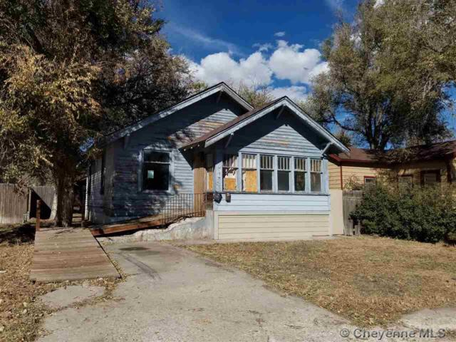 906 E 7TH ST, Cheyenne, WY 82001 (MLS #73423) :: RE/MAX Capitol Properties