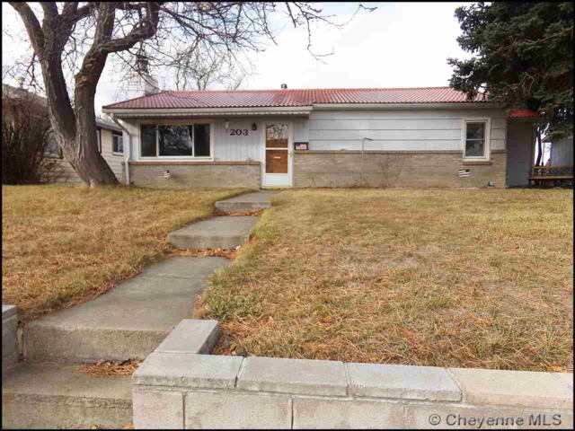203 15TH ST, Wheatland, WY 82201 (MLS #73452) :: RE/MAX Capitol Properties