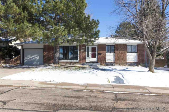 341 Bocage Dr, Cheyenne, WY 82009 (MLS #73457) :: RE/MAX Capitol Properties