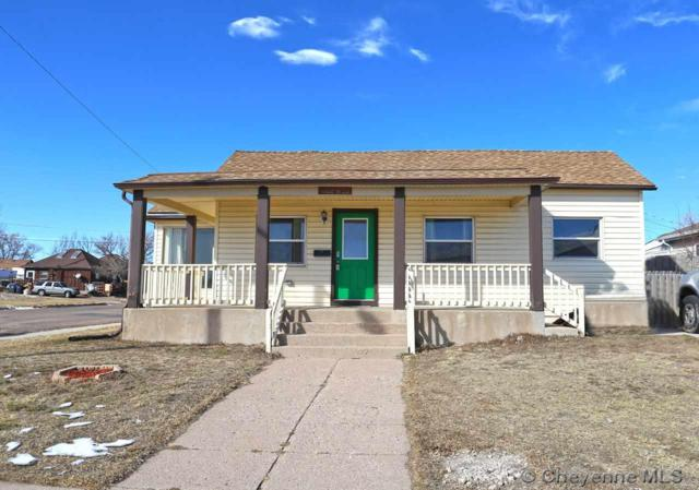 1022 W 20TH ST, Cheyenne, WY 82001 (MLS #74050) :: RE/MAX Capitol Properties