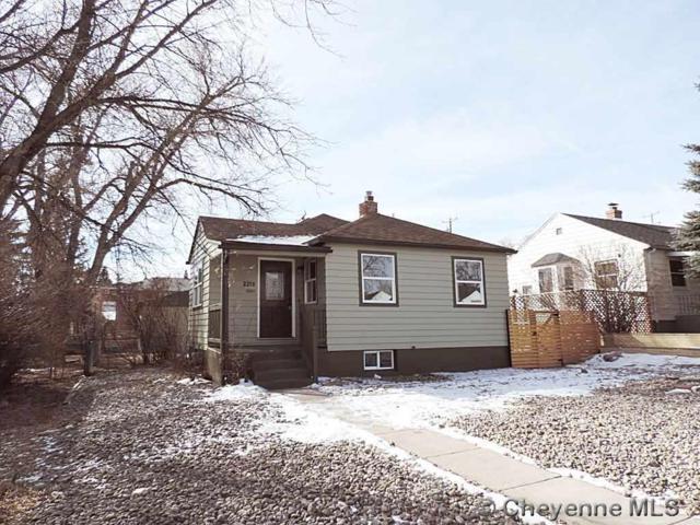 2215 Garrett St, Cheyenne, WY 82001 (MLS #74152) :: RE/MAX Capitol Properties