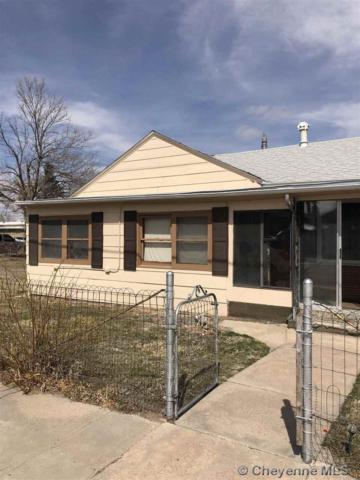 311 W 5TH ST, Pine Bluffs, WY 82082 (MLS #74503) :: RE/MAX Capitol Properties