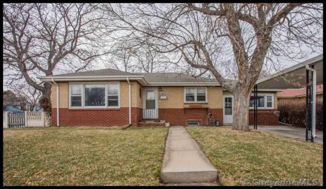 1602 Hot Springs Ave, Cheyenne, WY 82001 (MLS #74545) :: RE/MAX Capitol Properties