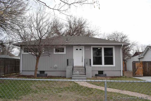 409 Maxwell Ave, Cheyenne, WY 82007 (MLS #74700) :: RE/MAX Capitol Properties