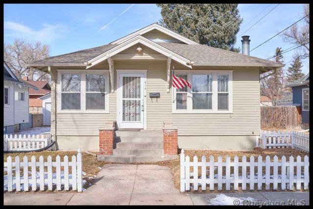 414 W 31ST ST, Cheyenne, WY 82001 (MLS #74716) :: RE/MAX Capitol Properties
