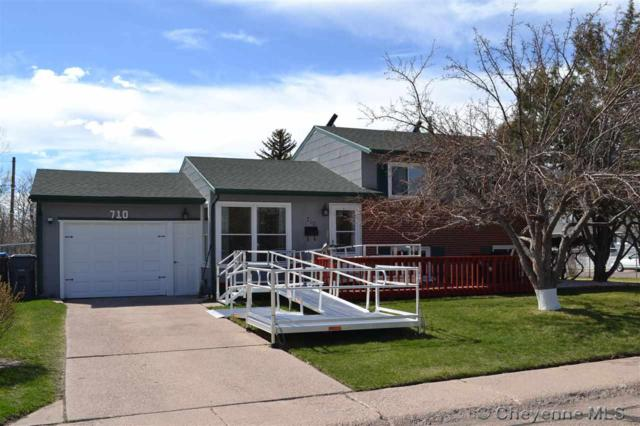 710 Cleveland Ave, Cheyenne, WY 82001 (MLS #74730) :: RE/MAX Capitol Properties