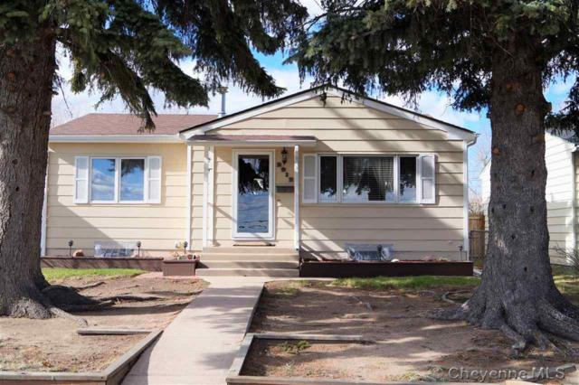 2912 E 8TH ST, Cheyenne, WY 82001 (MLS #74744) :: RE/MAX Capitol Properties