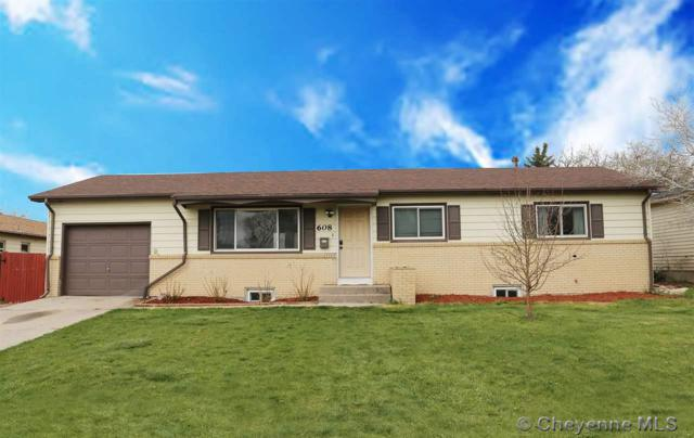608 Taft Ave, Cheyenne, WY 82001 (MLS #74993) :: RE/MAX Capitol Properties