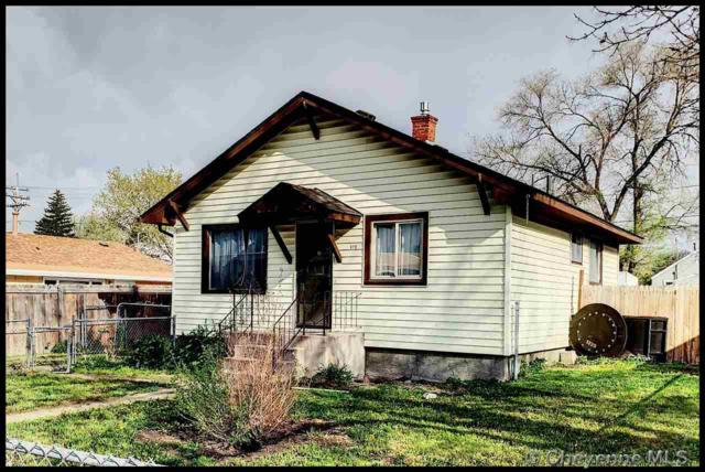 910 E 5TH ST, Cheyenne, WY 82007 (MLS #75046) :: RE/MAX Capitol Properties