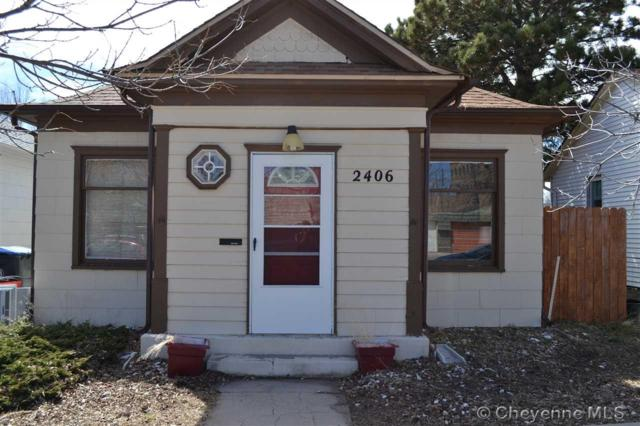 2406 Thomes Ave, Cheyenne, WY 82001 (MLS #75062) :: RE/MAX Capitol Properties