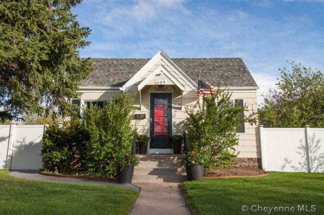 609 E 27TH ST, Cheyenne, WY 82001 (MLS #75083) :: RE/MAX Capitol Properties