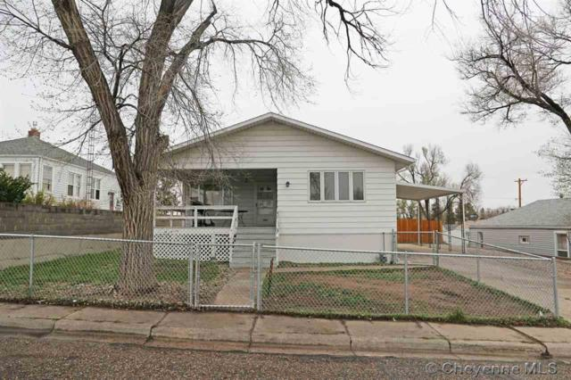 1508 E 13TH ST, Cheyenne, WY 82001 (MLS #75095) :: RE/MAX Capitol Properties