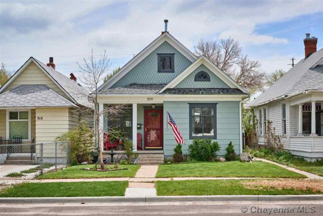 509 E 19TH ST, Cheyenne, WY 82001 (MLS #75373) :: RE/MAX Capitol Properties