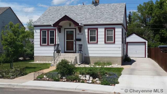 1812 E 21ST ST, Cheyenne, WY 82001 (MLS #75394) :: RE/MAX Capitol Properties