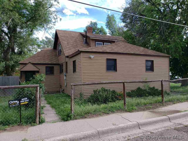 1008 15TH ST, Wheatland, WY 82201 (MLS #75595) :: RE/MAX Capitol Properties