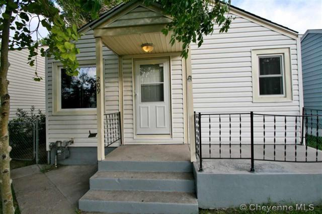 209 E 5TH ST, Cheyenne, WY 82007 (MLS #75742) :: RE/MAX Capitol Properties