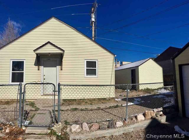 2104 13TH ST, Cheyenne, WY 82001 (MLS #76424) :: RE/MAX Capitol Properties