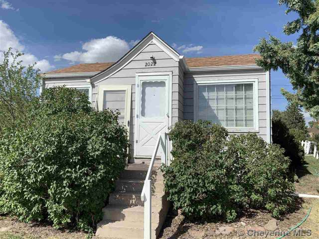 2022 E 15TH ST, Cheyenne, WY 82001 (MLS #76456) :: RE/MAX Capitol Properties