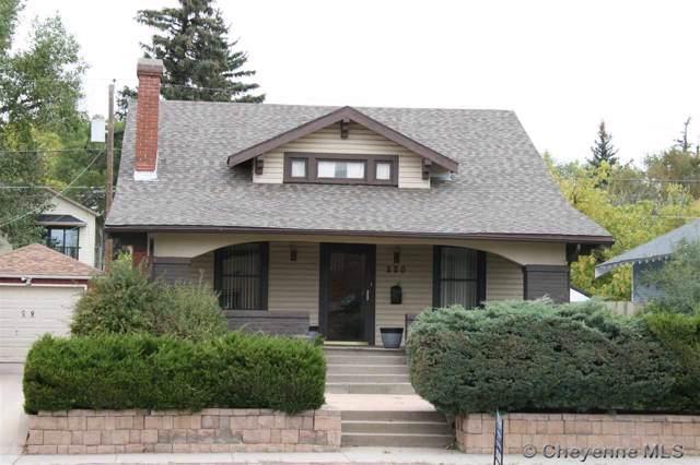 220 E Pershing Blvd, Cheyenne, WY 82001 (MLS #76498) :: RE/MAX Capitol Properties