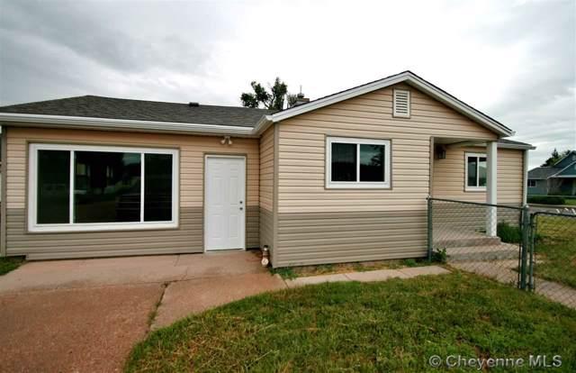301 W 5TH ST, Pine Bluffs, WY  (MLS #76567) :: RE/MAX Capitol Properties