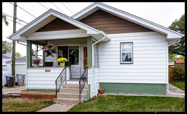 2614 Maxwell Ave, Cheyenne, WY 82001 (MLS #76640) :: RE/MAX Capitol Properties