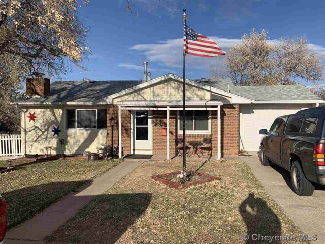 1823 Lilac Ct, Cheyenne, WY 82001 (MLS #76735) :: RE/MAX Capitol Properties