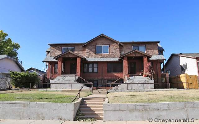 306-308 E 27TH ST, Cheyenne, WY 82001 (MLS #76737) :: RE/MAX Capitol Properties