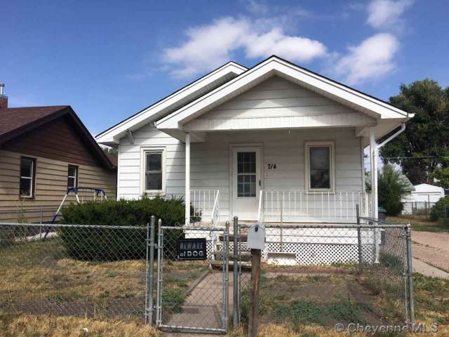 714 E 7TH ST, Cheyenne, WY 82007 (MLS #76768) :: RE/MAX Capitol Properties