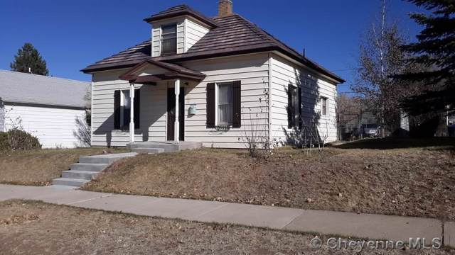 308 Main St, Evanston, WY 82930 (MLS #76906) :: RE/MAX Capitol Properties