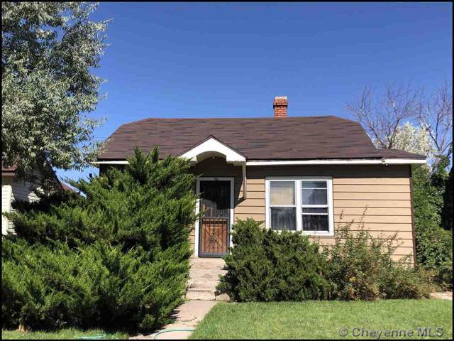 506 10TH ST, Cheyenne, WY 82001 (MLS #76907) :: RE/MAX Capitol Properties