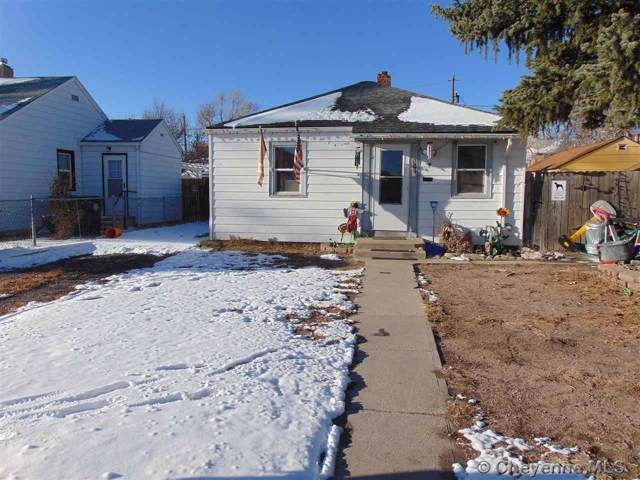 512 E 3RD ST, Cheyenne, WY 82007 (MLS #76911) :: RE/MAX Capitol Properties